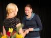 Gelungene Überraschung: Ehrennadel des Landessportbundes in Silber für Anke Stefaniak