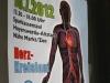 Plakat zum Thema Herz-Kreislauferkrankungen