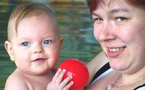 Babyschwimmen in Hoyerswerda
