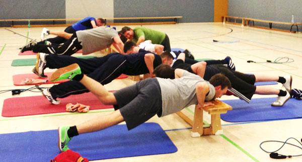 Zirkeltraining, Fitness Training, FSG Medizin Hoyerswerda
