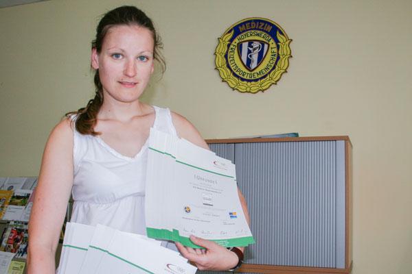 """Auszeichnung """"Sport pro Gesundheit"""", Kurse in Hoyerswerda"""