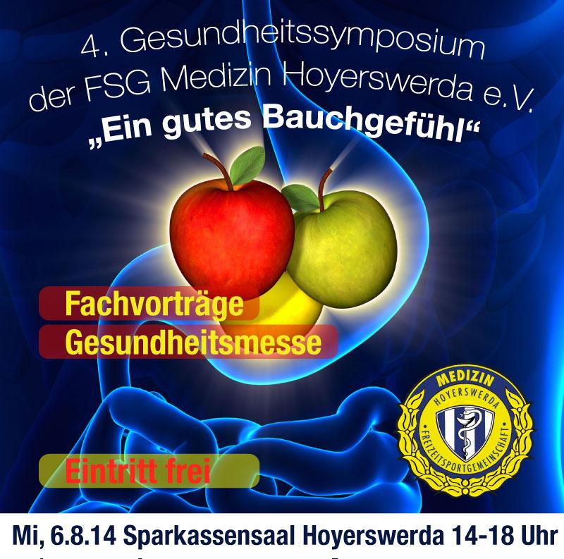 Einladung zum 4. Gesundheitssymposium in Hoyerswerda