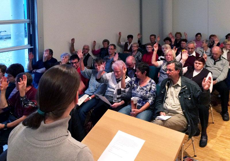Mitgliederversammlung FSG Medizin Hoyerswerda e.V, 22.10.14