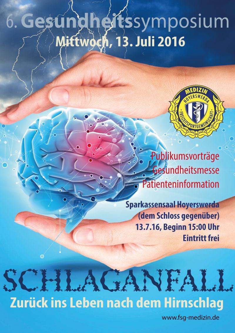 Flyer Gesundheitssymposium FSG Medizin
