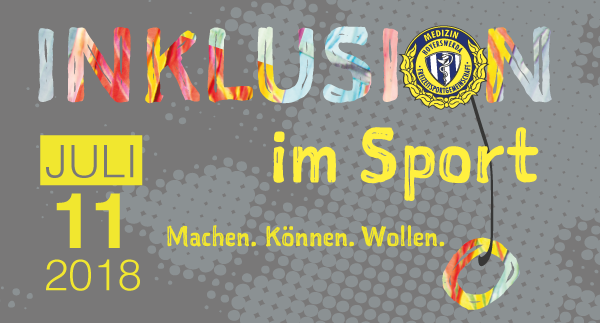 Banner Aktionstag Inklusion im Sport